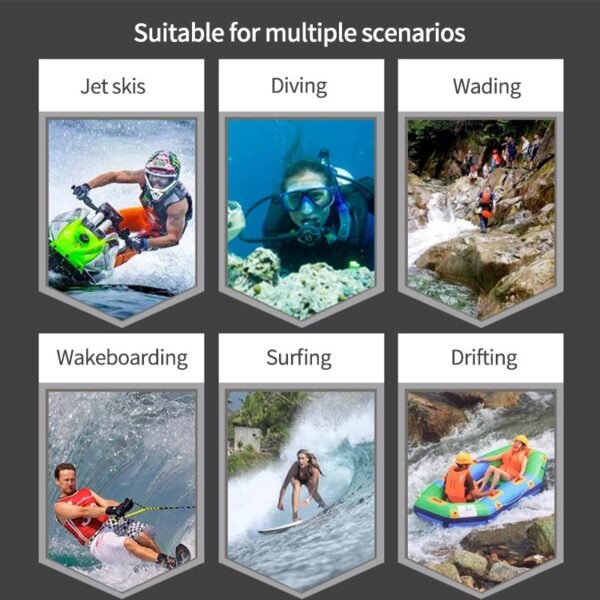 woman Men Neoprene Cap Printing Grid Swimming Surfing Hiking Skiing Cycling and Riding Outdoor Accessories Swimming